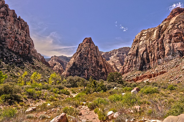 Red Rock Canyon breathtaking scenery